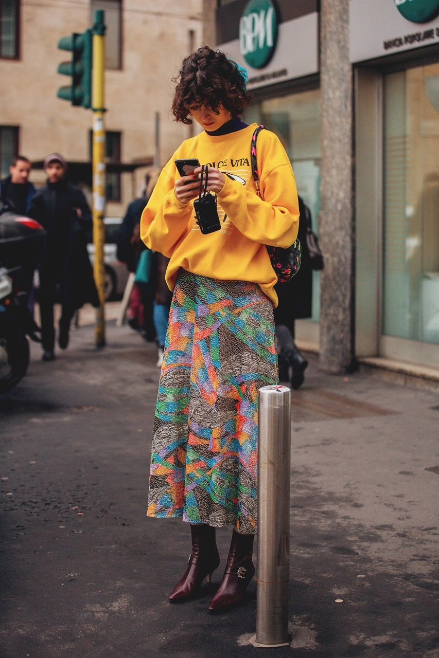 Street Style at the Milano Fashion Week FW18/19
