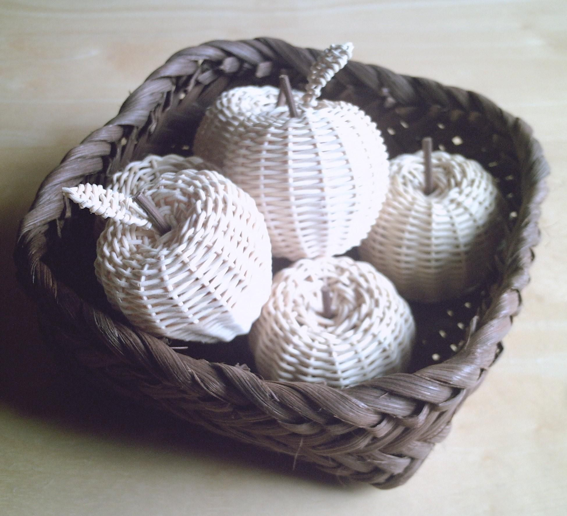 Basket Weaving With Raffia : G ? baskets