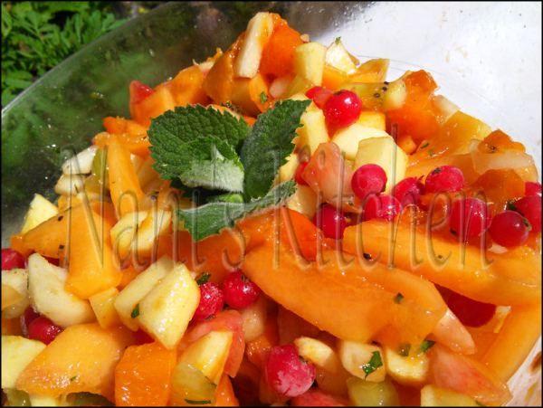 salade de fruits à la menthe   (2)