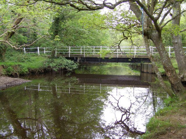 Mill Lane bridge on the Lymington River, New Forest