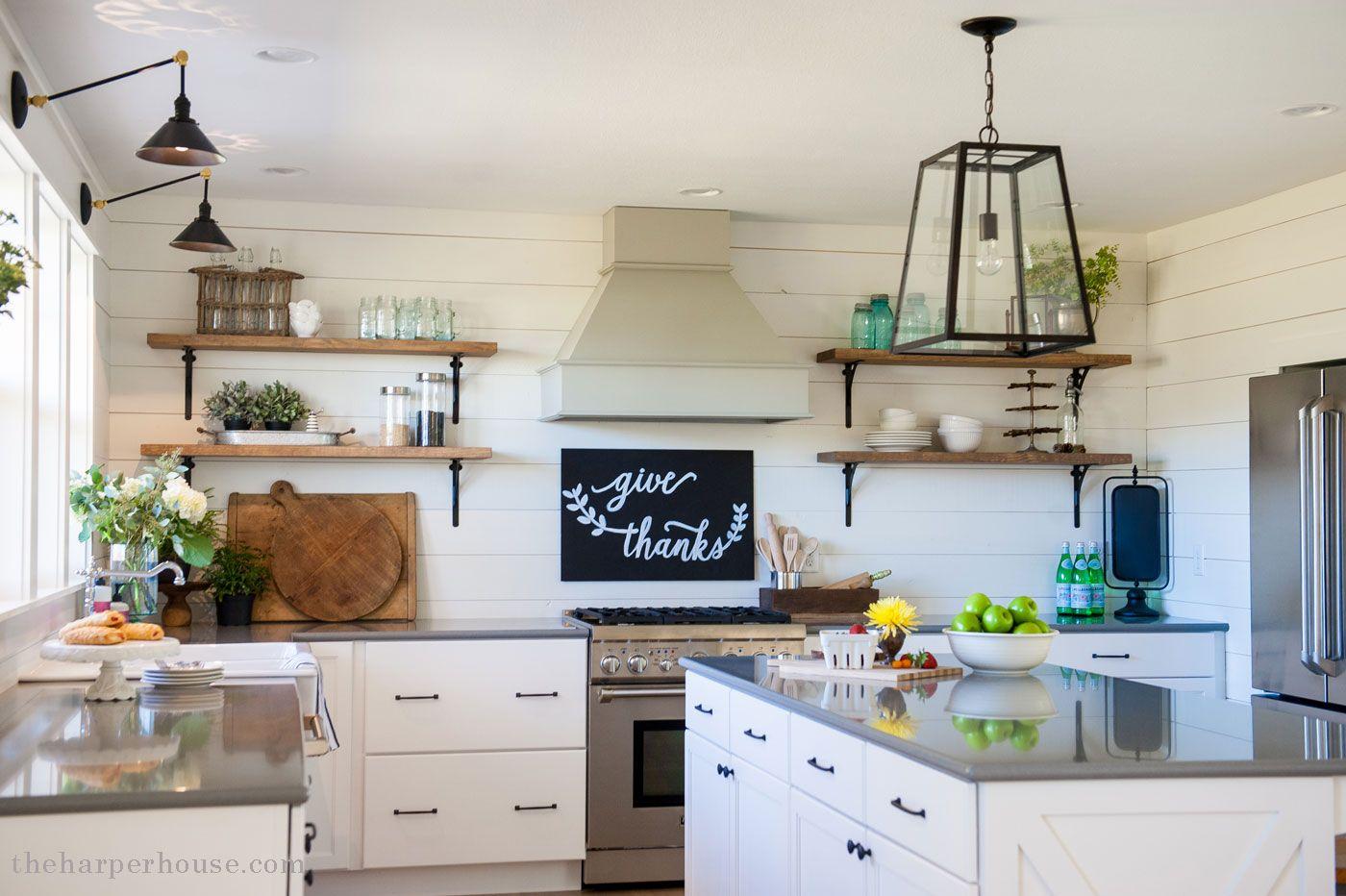 our farmhouse kitchen reveal Old farmhouse kitchen