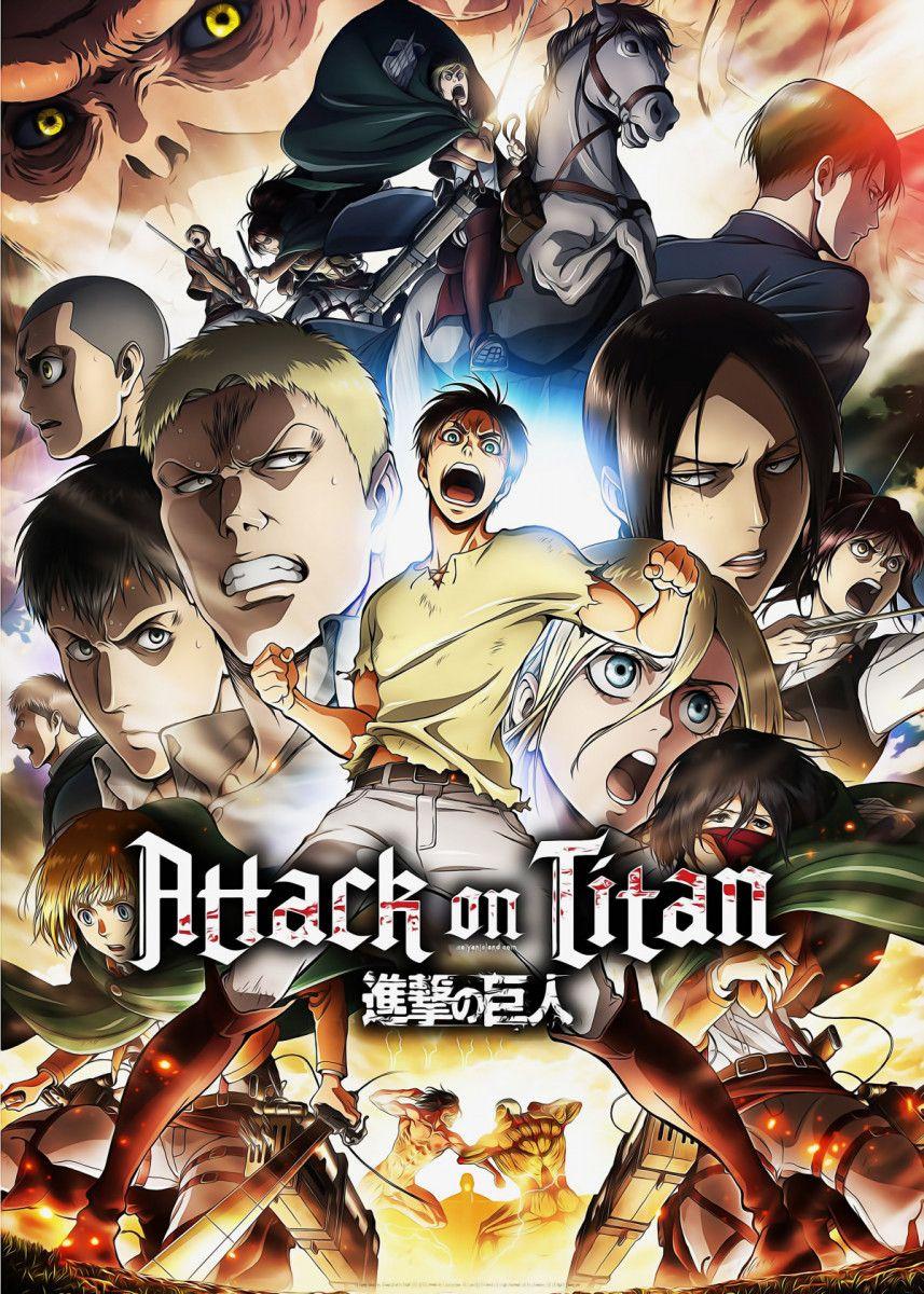 Attack On Titan S2 Metal Poster Print Animefreak Studio Displate Attack On Titan Season Attack On Titan S2 Attack On Titan Anime
