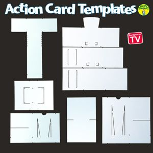 Action Card Templates Card Making Templates Action Cards Cards