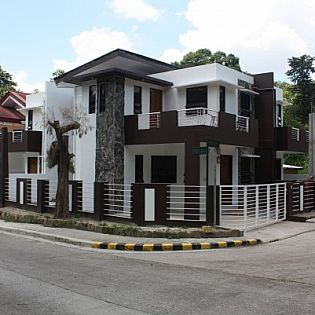 Corner lot house plans philippines house design plans for Modern houses in philippines