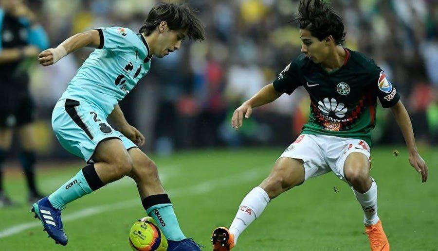 Horario De Santos Vs America En La Semifinal Del C2018 Y En Que Canal Verlo Santos Vs America Club America Deportes