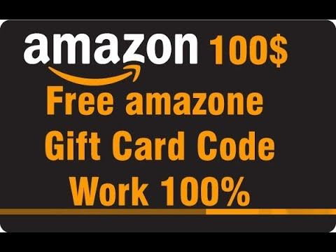 Check Out My Latest Video Free Amazone Gift Card Code 2017 Get 100 Free Amazone Gift Card Today Working Gift Card Google Play Gift Card Paypal Gift Card