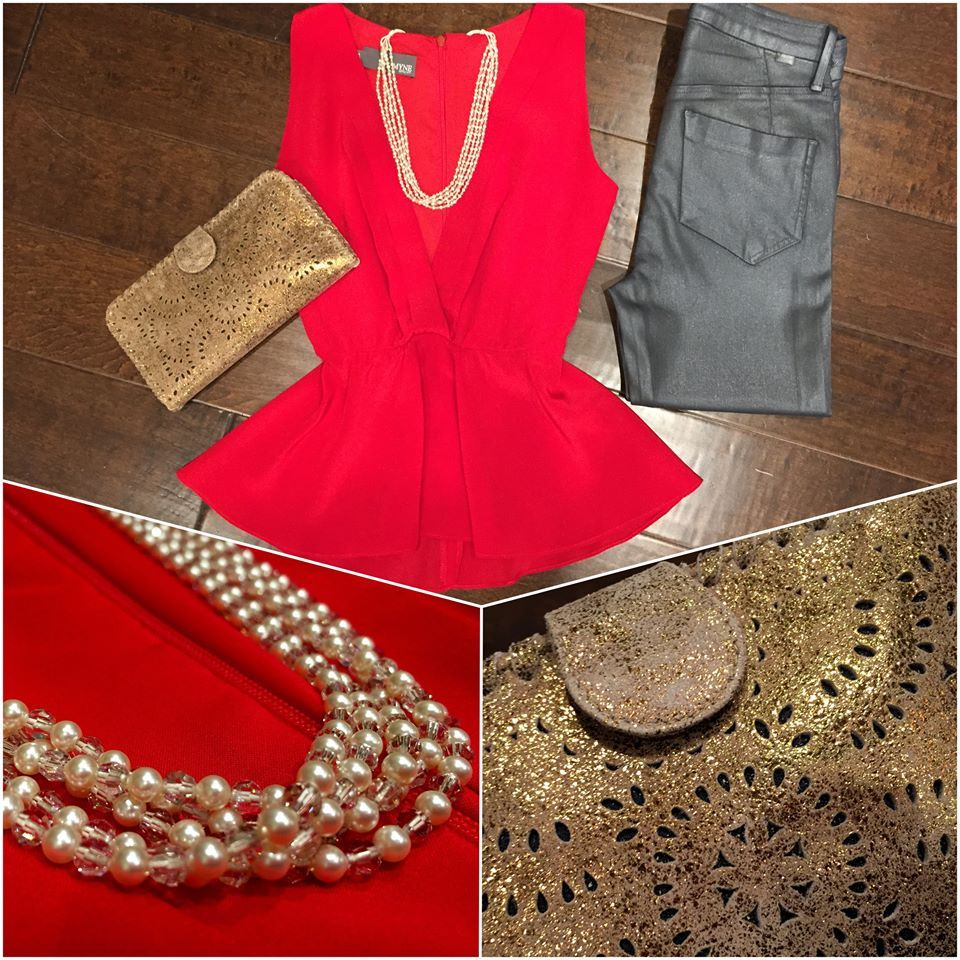 Time to Celebrate! #perle #sonoma #myne #celebrate #party #holiday #festive #pearls #goldsign #cleobella #ladyinred