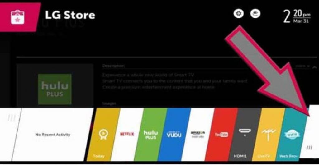install espn app on lg tv