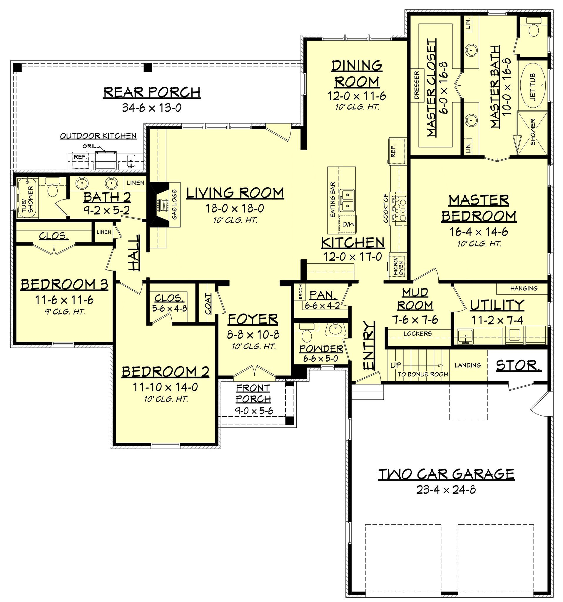 2217 S House Plan French House Plans European House Plans House Plans