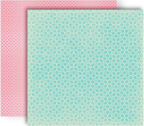 GCD Studios - Splendor Collection - 12 x 12 Double Sided Paper - Candytuft at Scrapbook.com $0.81