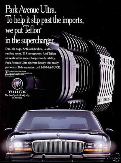 Buick Park Avenue Ultra Car Supercharger 1994