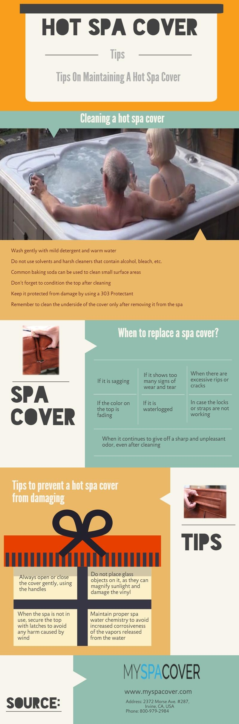 Tips On Maintaining A Hot Spa Cover #Hot_Spa_Cover | Custom Spa ...