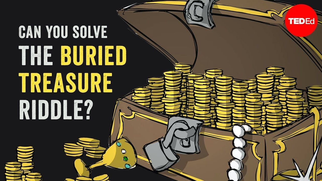 Can you solve the buried treasure riddle? Daniel Griller