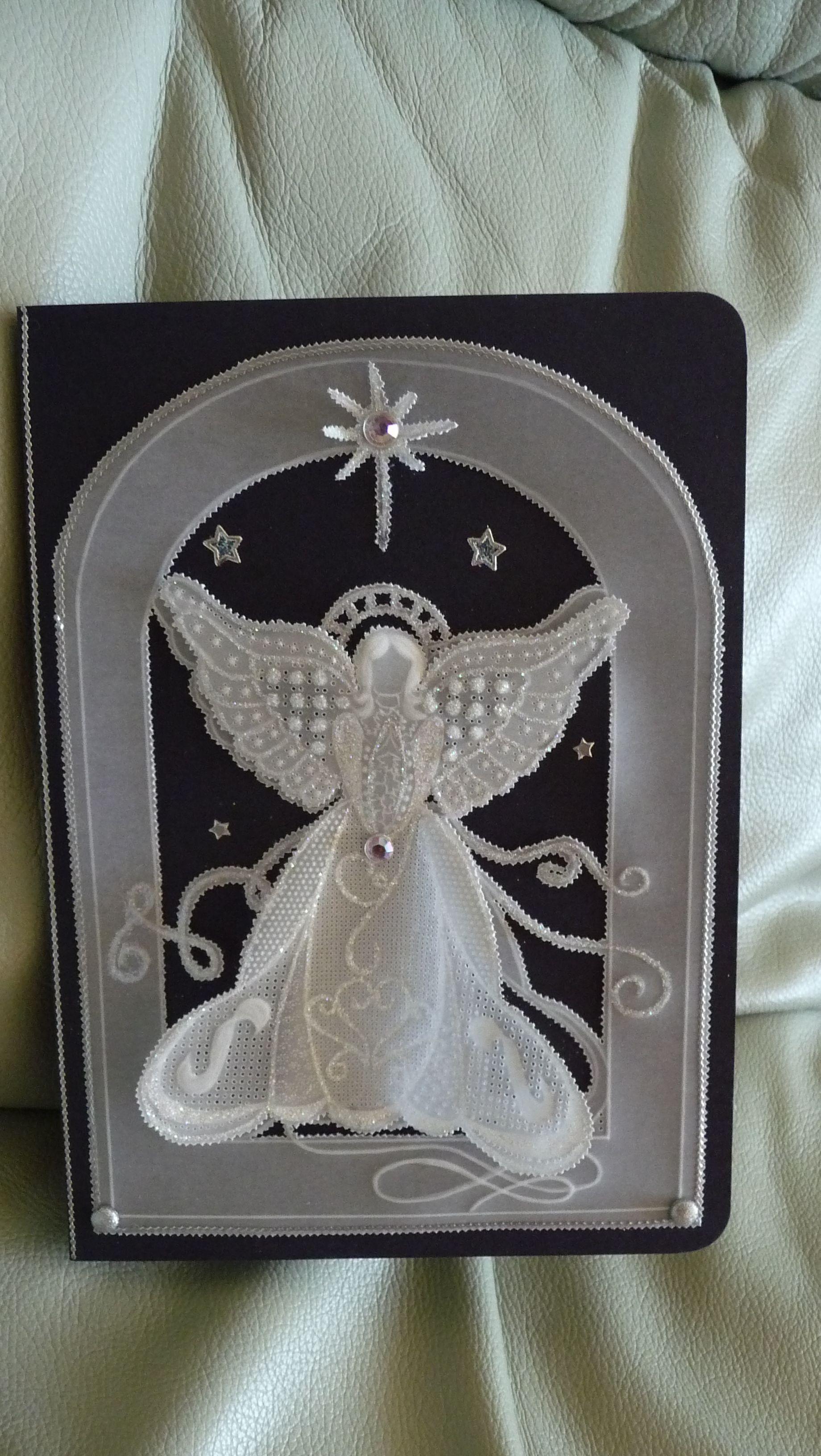 ангел изготовление открытки