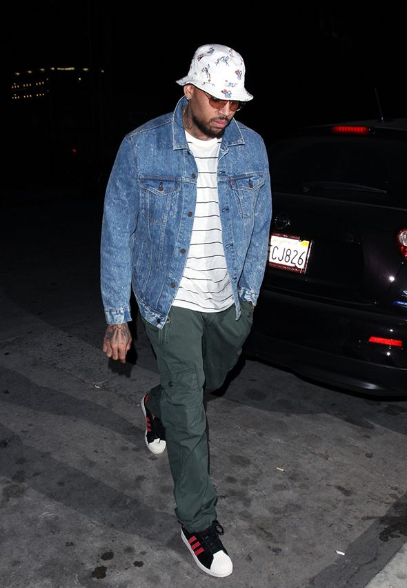 Chris Brown & Karreuche Tran: Katsuya Date Night With Mama Breezy- Posted on June 9, 2014