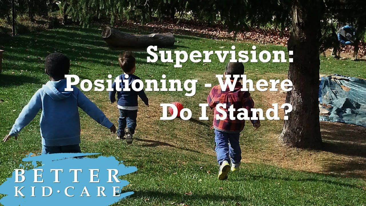 Supervision Positioning Where do I stand? Supervision