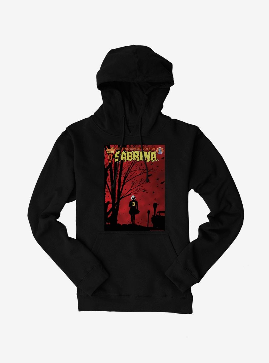 Archie Comics Chilling Adventures of Sabrina Windy Poster Hoodie