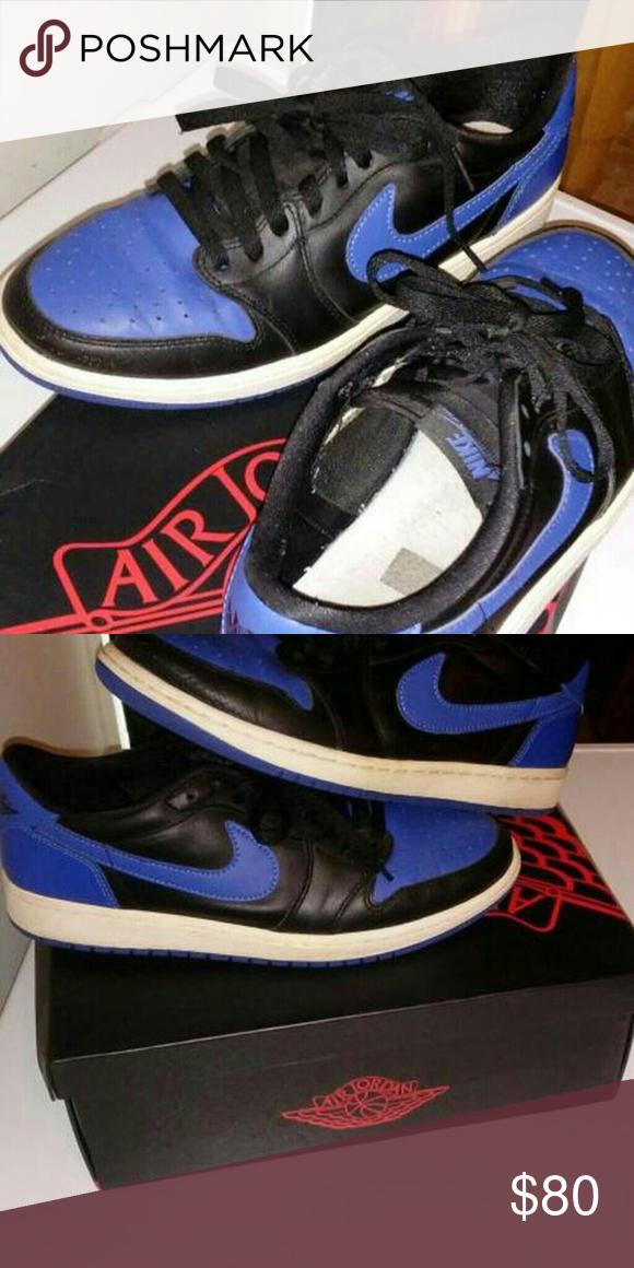 Jordan 1 Low OG Royal Shoes are in