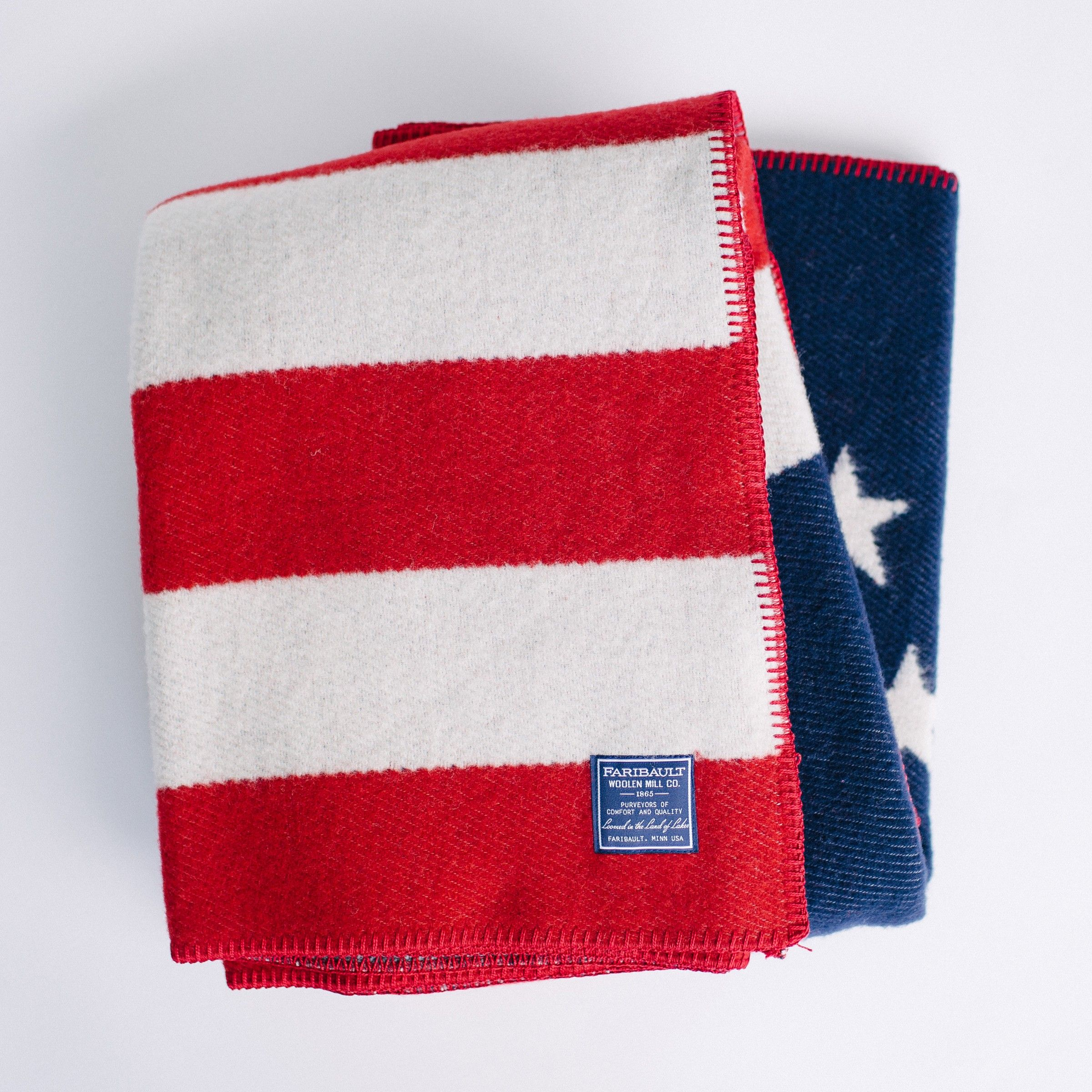 1776 Flag Wool Throw | Faribault