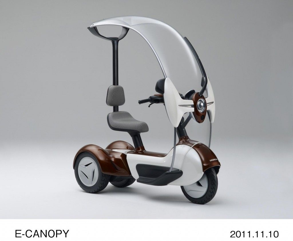 Honda E Canopy Electric Tricycle Concept