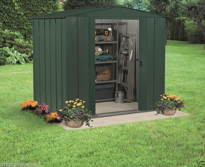 arrow metal sheds 6x7 small backyard garden outdoor storage shed building kits arrowshedsarrowshedsarrowstoragesheds