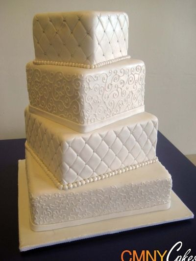 square wedding cakes pinterest square white wedding cake wedding white 20408