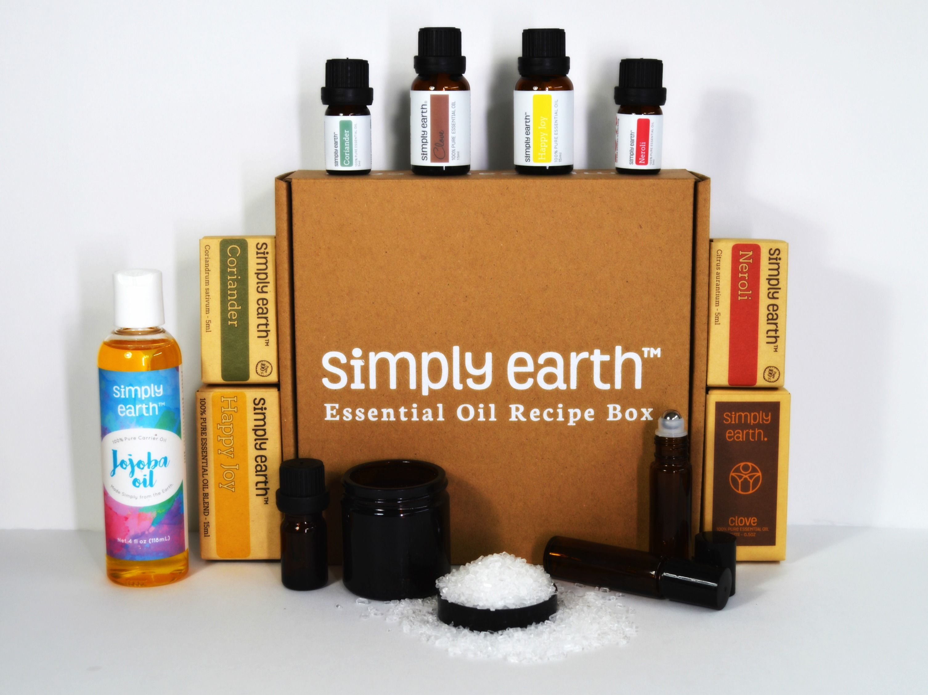 October Essential Oil Recipe Box Giveaway