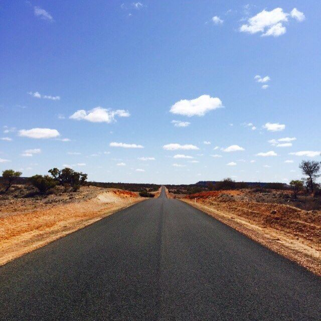 We're on a road to nowhere ... #seeaustralia #instatravel #travellerau #queensland #outbackqueensland #birdsvilleraces #travel #thisisqueensland @Australian_offroad_academy by meganlevy