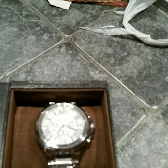 Original Michael kors watch Silver mk watch with Roman numbers Michael Kors Accessories Watches