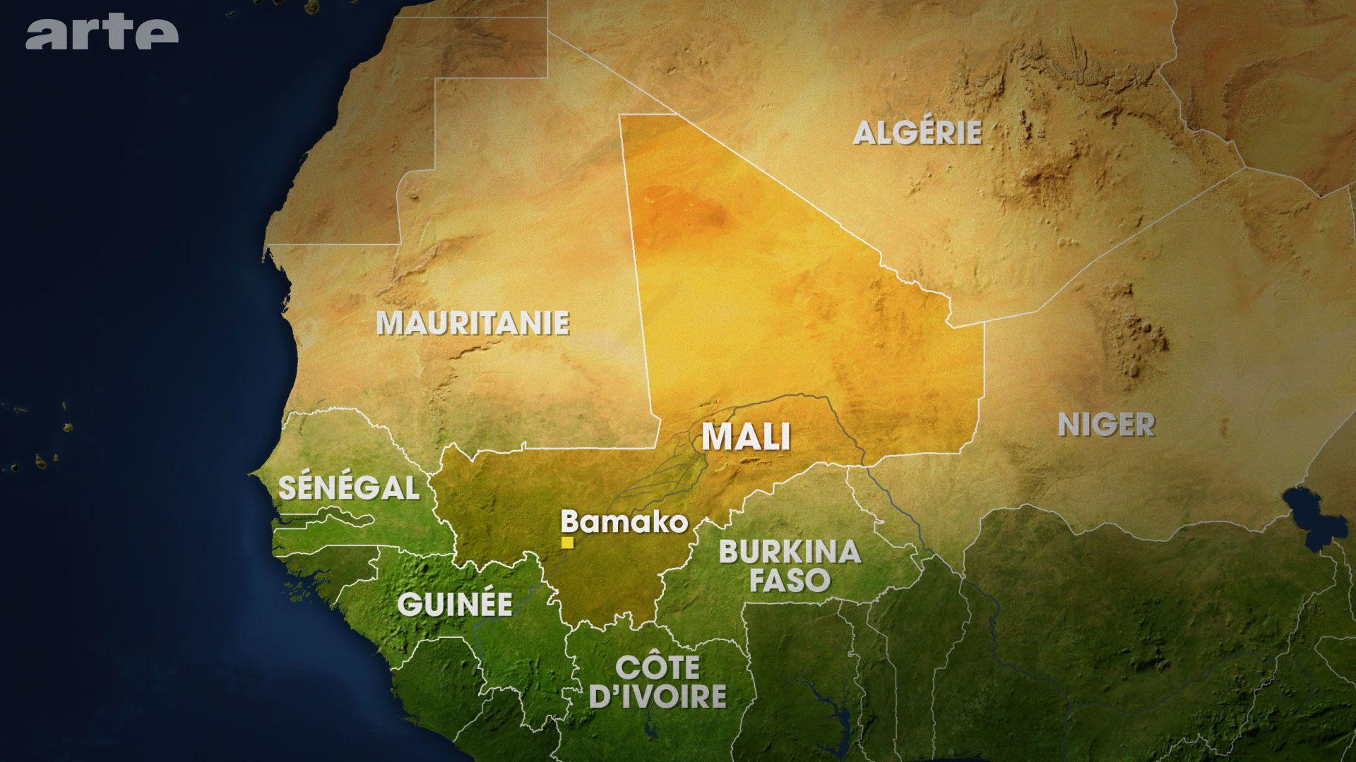 Mali Liegt In Westafrika Und Hat Eine Flache Von 1 24 Millionen