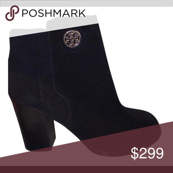 b0772a7d70bd NIB Tory Burch Junction Suede 85mm booties NIB Tory Burch Junction Suede 85mm  booties in black 7 Tory Burch Shoes Ankle Boots   Booties