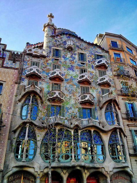 Antoni Gaudì, Casa Batllò, 1904-1906, Barcellona