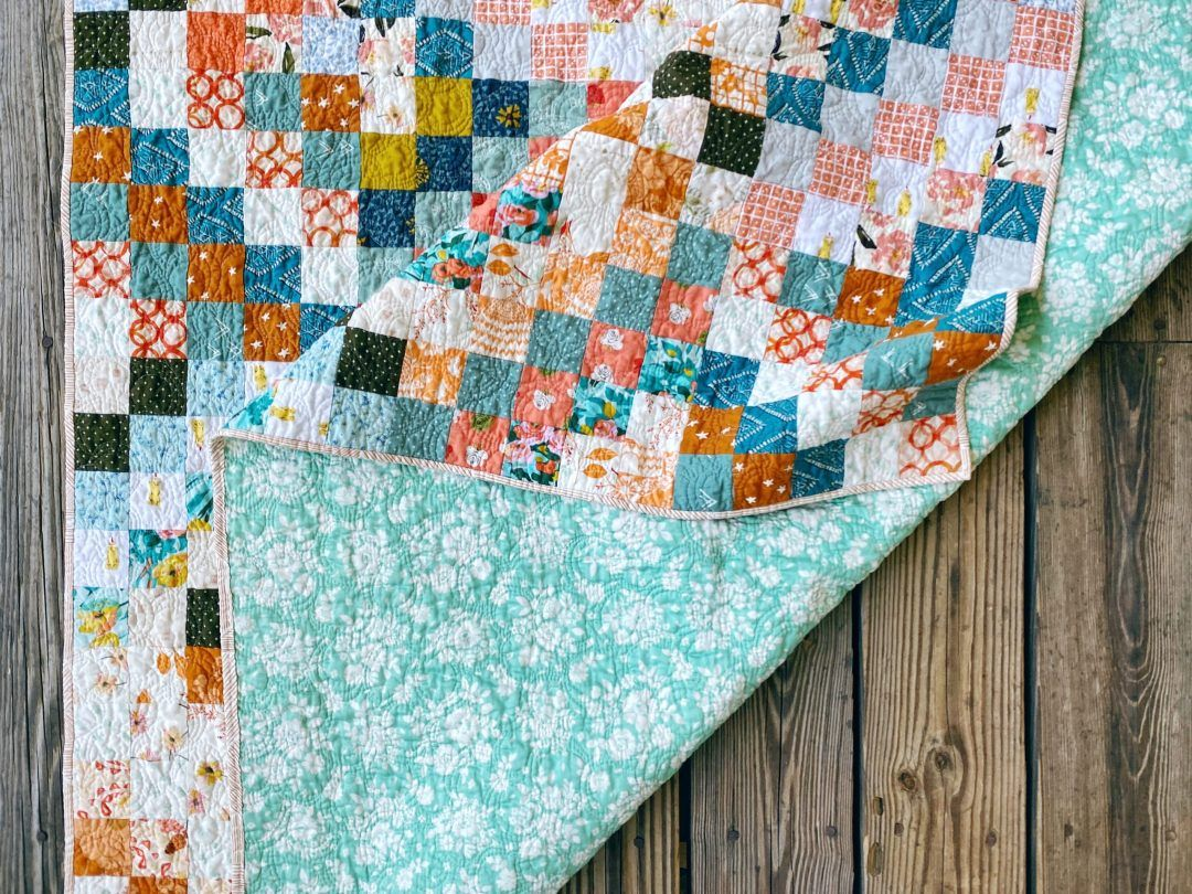 Quilt Reveal Trippy Quilt 4 Green And Orange And A Hint Of Silver In 2020 Quilts Scrappy Quilt Patterns Quilt Labels