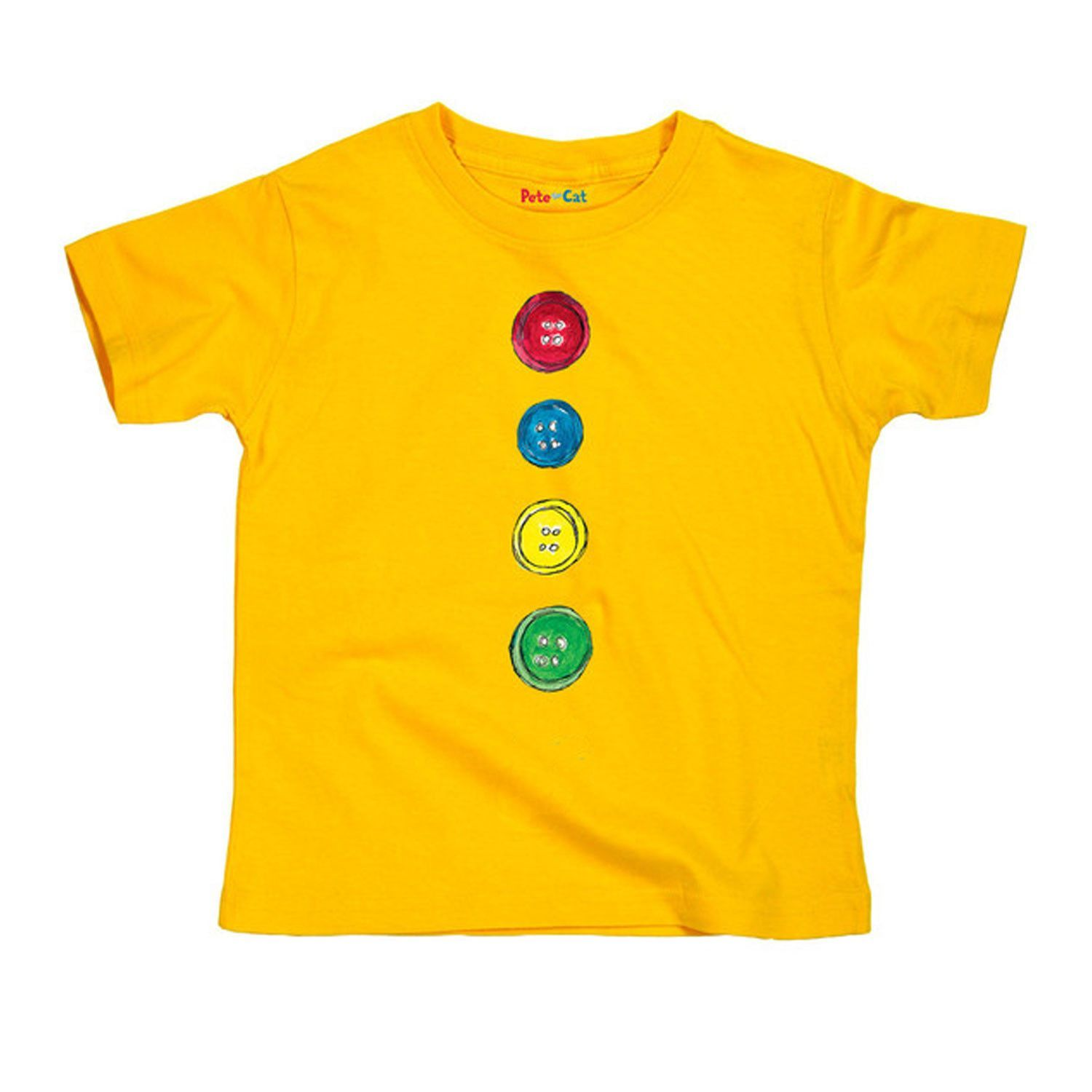 Pete The Cat Four Groovy Buttons Toddler Tee