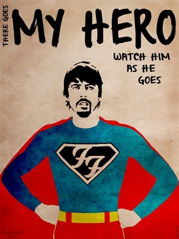 I <3 Foo Fighters. I <3 Dave Grohl