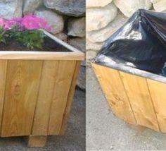 Tutoriel : fabriquer une jardinière ou un bac à fleurs