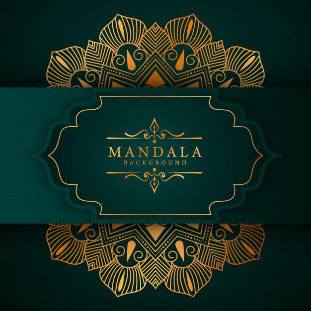 15+ Background Hijau Islami HD, Toska, PNG, Vector, CDR   Lukisan Keluarga,  Mandala, Seni Islamis