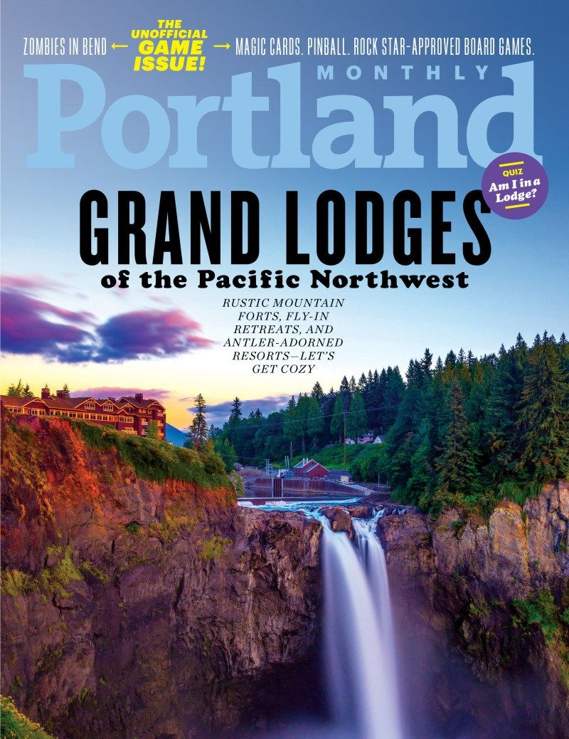 Portland Monthly Cover for 12/1/2018 Monthly magazine