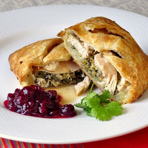 Photo of Leftover Turkey Turnovers – so easy to make using frozen puff pastry!