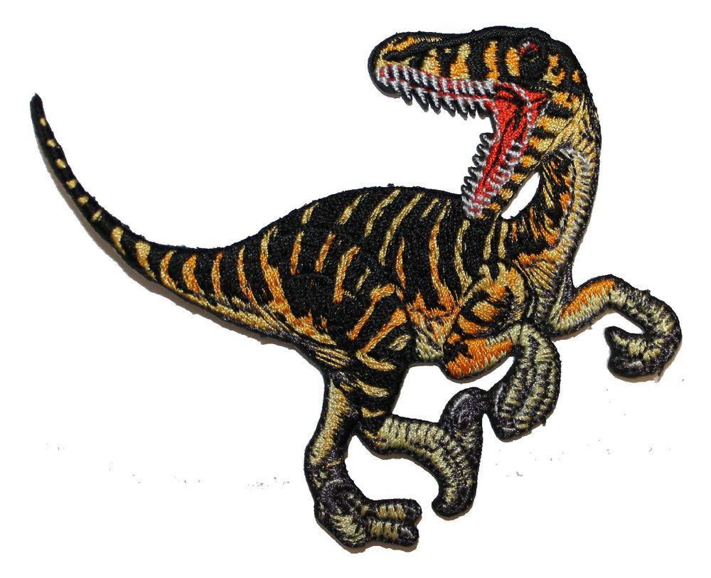 Generic Dinosaur Embroidered Iron on Patch