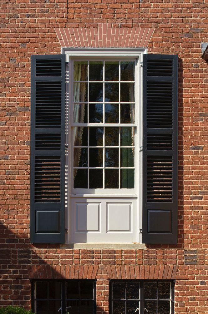 Window Panel Shutters Jack Arch 3north Architects Architect
