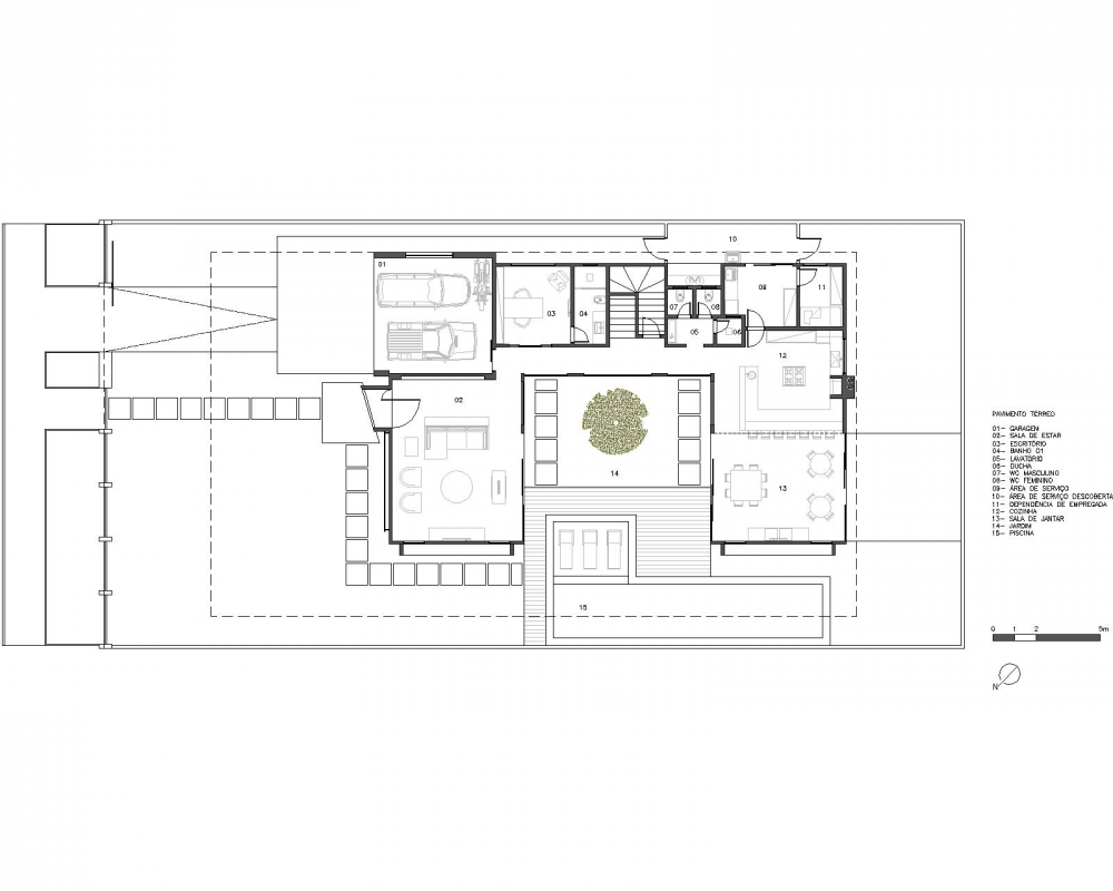 Gallery of taquari house ney lima 14 arquitectura for Casa minimalista lima