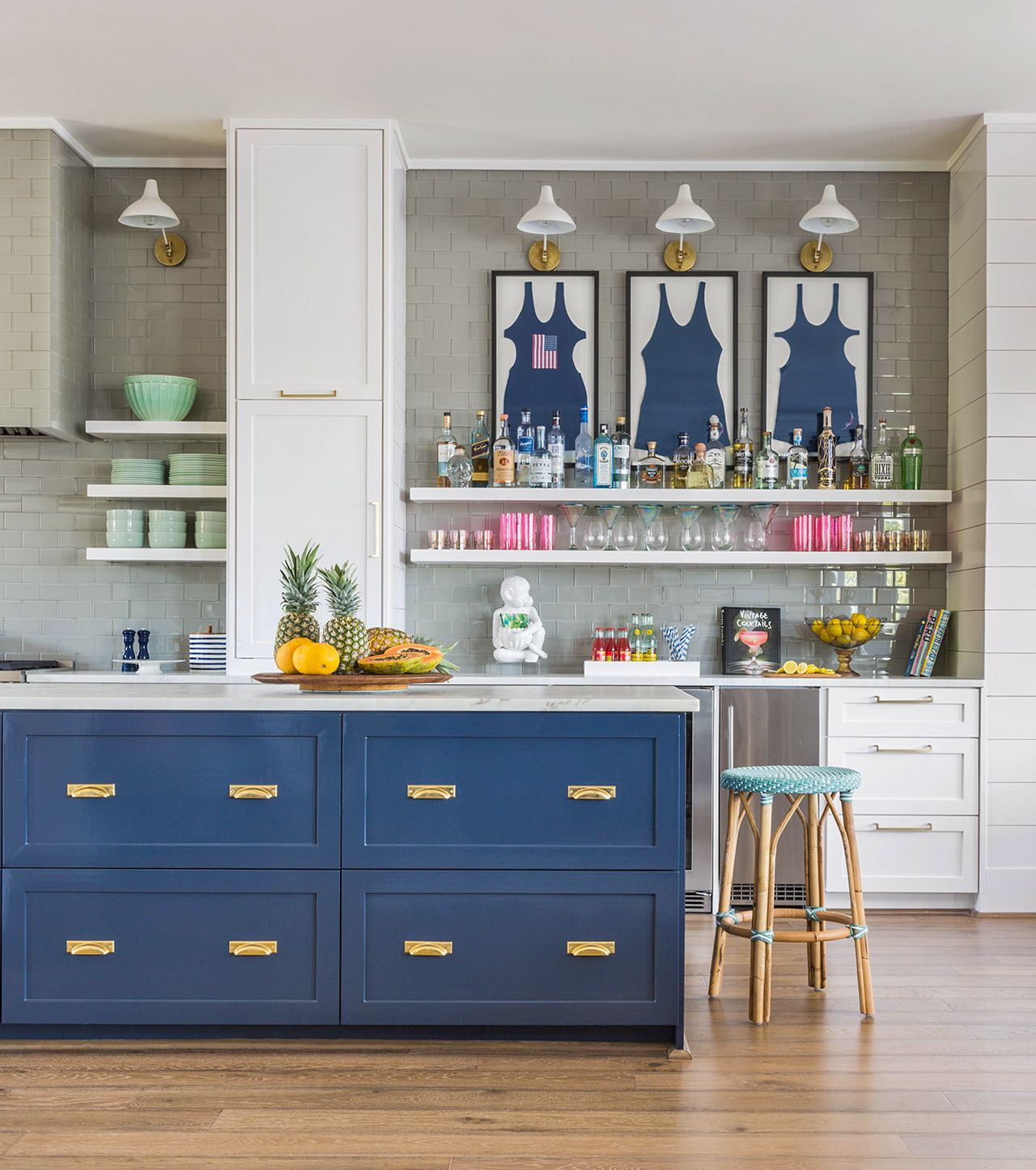 25 Winning Kitchen Color Schemes For A Look You Ll Love Forever In 2020 Nautical Kitchen Kitchen Colour Schemes Kitchen Color