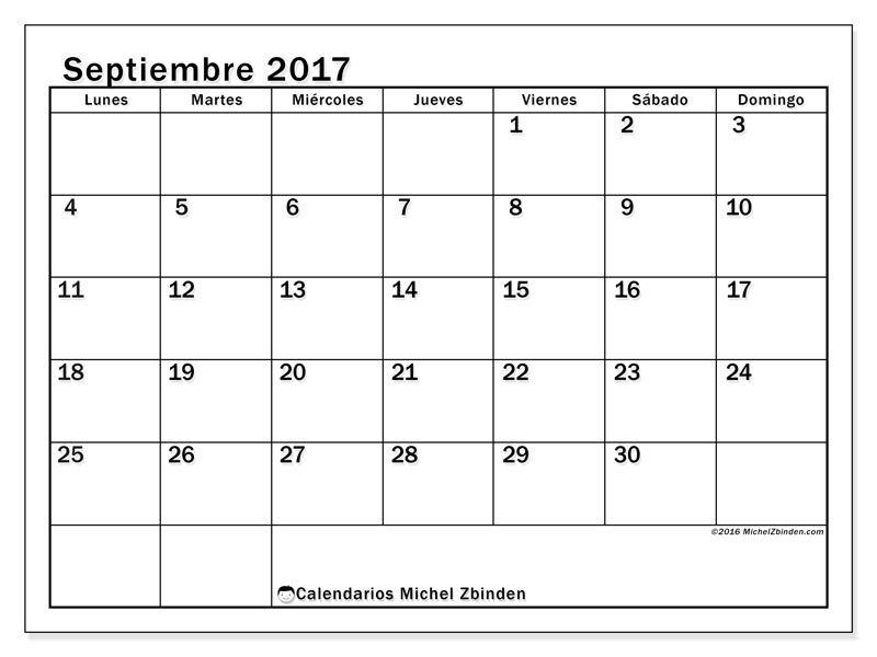 Calendario De Septiembre 2019 Para Imprimir Animado.Calendarios Para Imprimir Sweety Calendario Para