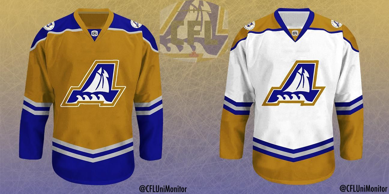 How the CFLthemed hockey jerseys came to be 3DownNation