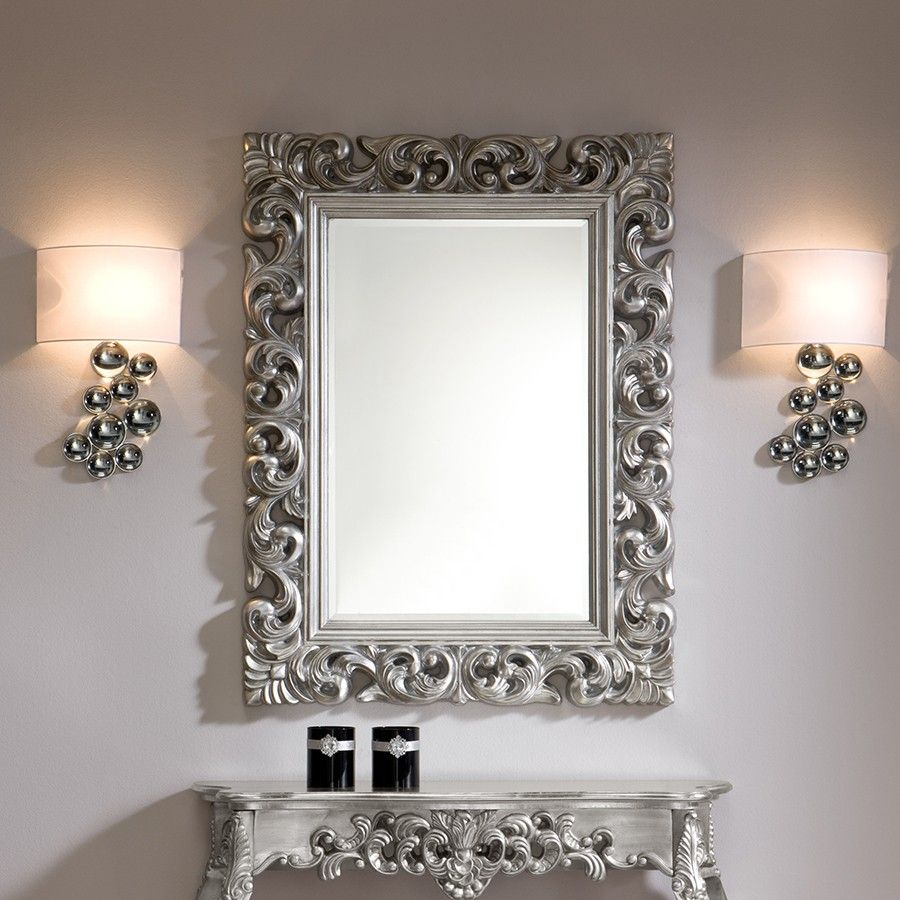 miroir mural rectangulaire argente dino zd1 mir d 900 900 mirroir pinterest. Black Bedroom Furniture Sets. Home Design Ideas