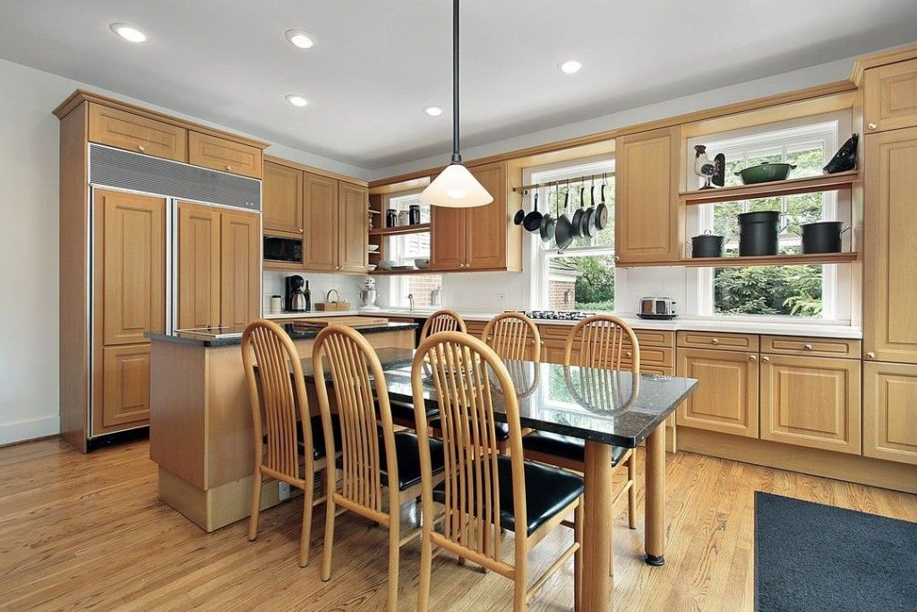Design Of Kitchens Prepossessing Kitchen Colors With Light Wood Cabinets  Best Kitchen Cabinet Design Inspiration