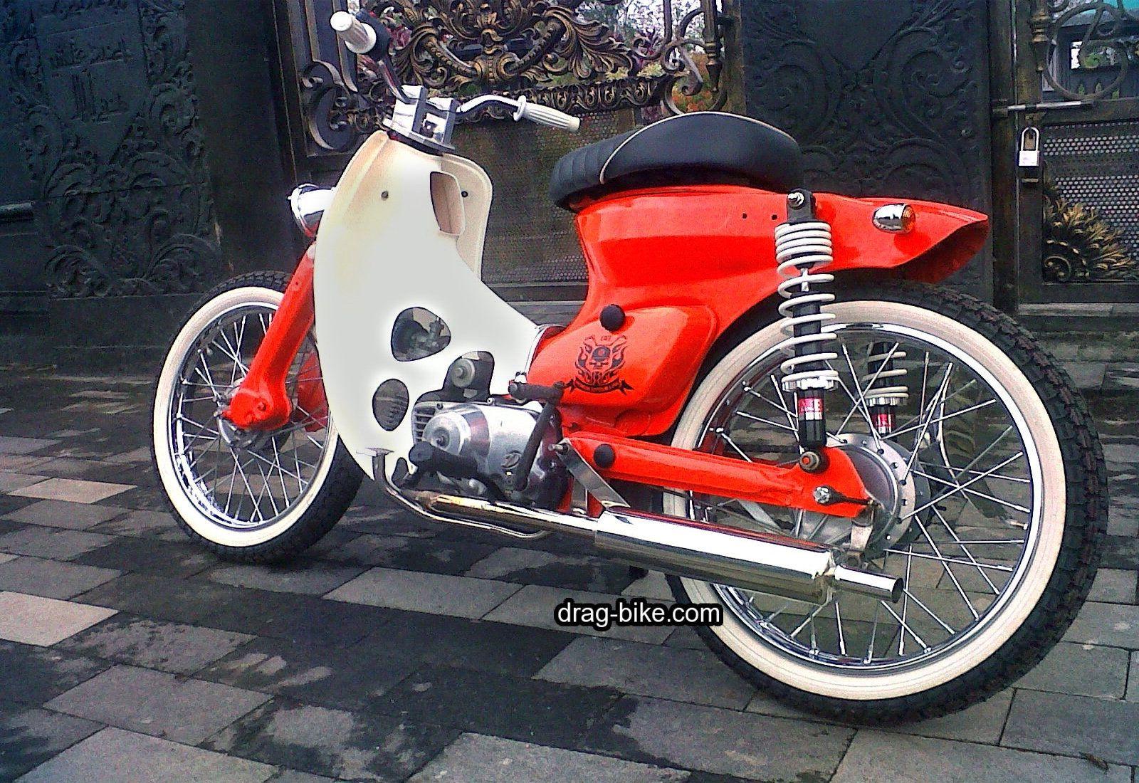 Gambar Modifikasi C70 Bali Doc Pinterest Choppers Drag Bike