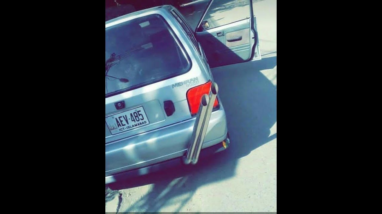 Four wheels drive suzuki mehran Fully automatic with