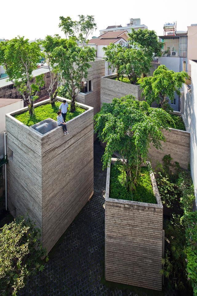 Haus-Bäume , einfach genial !! Gartenarchitektur Pinterest - gartenarchitektur